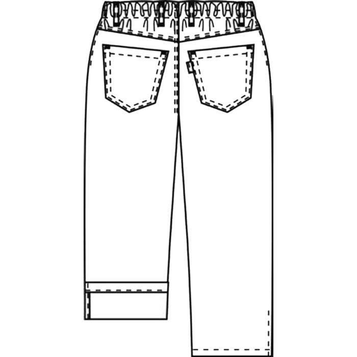 Pull-onArtikelnummer: K-105043100-N64% Polyester - 33% Baumwolle - 3% Elastolefin285 g/m²✓ 3/4-Hose✓ Möglichkeit zum Krempeln