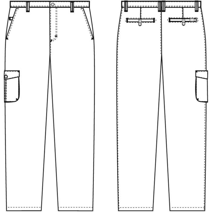 + 10 cmArtikelnummer: K-205166202-N65% Polyester - 35% Baumwolle210 g/m²✓ Innenliegender und justierbarer Gummizug✓ Oberschenkeltasche mit Verschluß✓ Zwei SchrägtaschenOptionale Beinlänge:205166202- Schrittlänge normal