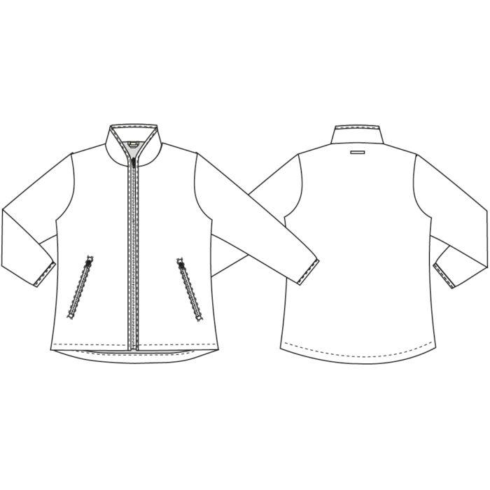 MOVE Artikelnummer: K-540012900-N 100 % Polyester 320 g/m² Funktionelle Jacke mit 4-Wege-Strechqualität Reissverschluss vorne Zwei Seitentaschen Mikrofaser Fleecefutter ohne sichtbare Säume